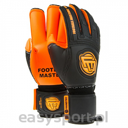 Football Masters CLASSIC BLACK ORANGE AQUA GRIP RF JUNIOR