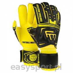 Football Masters CLIMA BLACK YELLOW CONTACT GRIP 4 MM RF V 2.0